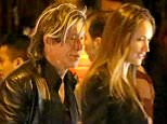 *EXCLUSIVE* West Hollywood, CA - Actor Mickey Rourke is being a perfect gentleman out on the town with his much younger date. AKM-GSI          March 11, 2016 To License These Photos, Please Contact : Steve Ginsburg (310) 505-8447 (323) 423-9397 steve@akmgsi.com sales@akmgsi.com or Maria Buda (917) 242-1505 mbuda@akmgsi.com ginsburgspalyinc@gmail.com