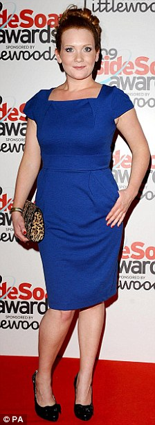 Jennie McAlpine arriving for the Inside Soap awards held at Sketch in central London