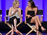 Mandatory Credit: Photo by Rob Latour/REX/Shutterstock (5613079aw) Emma Roberts and Lea Michele 'Scream Queens' TV series screening, inside, PaleyFest 2016, Los Angeles, America - 12 Mar 2016