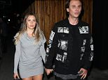 Jonathan Cheban and Girlfriend Anat Popovsky leave The Nice Guy club in West Hollywood, CA.  Pictured: Jonathan Cheban and Girlfriend Anat Popovsky Ref: SPL1244397  100316   Picture by: Photographer Group / Splash News  Splash News and Pictures Los Angeles: 310-821-2666 New York: 212-619-2666 London: 870-934-2666 photodesk@splashnews.com