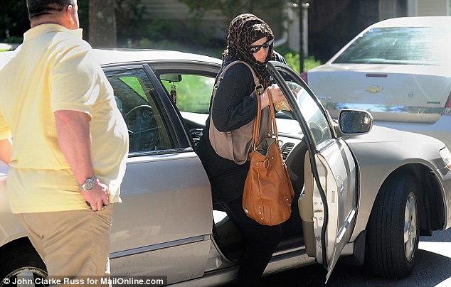 Wife: The suspected bomber went on to marry Katherine Russell, who became a Muslim at his urging
