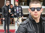 Picture Shows: Nick Jonas, Joe Jonas  March 11, 2016\n \n Nick and Joe Jonas are spotted enjoying lunch with a friend at Sweet Butter Kitchen in Sherman Oaks, California. The singing siblings were looking cool and casual in black jackets, jeans and sneakers.\n \n Non Exclusive\n UK RIGHTS ONLY\n \n Pictures by : FameFlynet UK © 2016\n Tel : +44 (0)20 3551 5049\n Email : info@fameflynet.uk.com