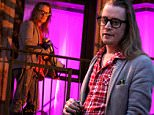 Macaulay Culkin pictured standing outside on the fire escape stairs as he films scenes for 'The Jim Gaffigan Show' in the Soho area of Downtown Manhattan, New York on March 13, 2016.\n\nPictured: Macaulay Culkin\nRef: SPL1245205  130316  \nPicture by: Jose Perez / Splash News\n\nSplash News and Pictures\nLos Angeles: 310-821-2666\nNew York: 212-619-2666\nLondon: 870-934-2666\nphotodesk@splashnews.com\n