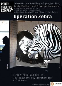 zebra screen WED 11 DEC