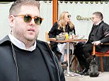 eURN: AD*199784213  Headline: Jonah Hill Spotted Eating Al Fresco With A Mystery Woman In New York City Caption: March 13, 2016: Jonah Hill and a mystery woman spotted eating Al Fresco in New York City, New York. Mandatory Credit: INFphoto.com Ref: infusny-198 Photographer: infusny-198 Loaded on 14/03/2016 at 04:18 Copyright:  Provider: INFphoto.com  Properties: RGB JPEG Image (19958K 1907K 10.5:1) 2206w x 3088h at 300 x 300 dpi  Routing: DM News : GeneralFeed (Miscellaneous) DM Showbiz : SHOWBIZ (Miscellaneous) DM Online : Online Previews (Miscellaneous), CMS Out (Miscellaneous)  Parking: