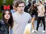 *NO WEB TILL 8PM GMT 13/03/16*\nEXCLUSIVE: Brooklyn Beckham celebrates his girlfriend Sonia Ben Ammar's birthday with a Disneyland Date. The couple stayed close as they made their way through the park as they were accompanied by a bodyguard and a VIP tour guide. \nThey were seen riding many rides including the Pirates of the Caribbean, The Haunted Mansion and soaring over California. \nPics taken Feb 19th.\n\nPictured: Brooklyn Beckham and Sonia Ben Ammar\nRef: SPL1233012  280216   EXCLUSIVE\nPicture by: Fern /  Splash News\n\nSplash News and Pictures\nLos Angeles:310-821-2666\nNew York:212-619-2666\nLondon:870-934-2666\nphotodesk@splashnews.com\n\n