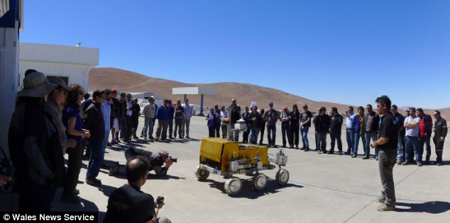 The camera and stanied-glass chips are currently being tested in Chile's Atacama desert