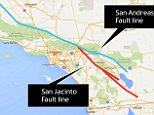 ***LOCATOR MAP: San Jacinto Fault line