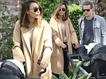 """*EXCLUSIVE* Los Angeles, CA - Naya Rivera and her cute fam celebrate Easter early at the """"AKID presents The Egg Hunt."""" The """"Glee"""" actress is seen pushing her stroller with son Josey inside while husband Ryan Dorsey sticks by her side.\n  \nAKM-GSI      March 13, 2016\nTo License These Photos, Please Contact :\nSteve Ginsburg\n(310) 505-8447\n(323) 423-9397\nsteve@akmgsi.com\nsales@akmgsi.com\nor\nMaria Buda\n(917) 242-1505\nmbuda@akmgsi.com\nginsburgspalyinc@gmail.com"""