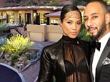 10.March.2016 - Phoenix - USA\nShe may be forever linked with New York, but it turns out, soulful singer Alicia Keys has a thing for Arizona. Despite professing her love for Dreamland, her four-bed, five-and-a-half-bath home for sale in Phoenix, AZ, the �Girl on Fire� is ditching the desert. Alicia and Swizz just listed the property for $3.85 million, selling it for less than the $3.9 million they paid for it in 2008.\n*AVAILABLE FOR UK ONLY*\nBYLINE MUST READ : SUPPLIED BY XPOSUREPHOTOS.COM\n***UK CLIENTS - PICTURES CONTAINING CHILDREN PLEASE PIXELATE FACE PRIOR TO PUBLICATION ***\nGERMAN CLIENTS PLEASE CALL TO AGREE FEE PRIOR TO PUBLICATION **UK AND USA CLIENTS MUST CALL PRIOR TO TV OR ONLINE USAGE PLEASE TELEPHONE  +44 208 344 2007