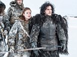 Television Programme: Game of Thrones with Rose Leslie as Ygritte and Kit Harington as Jon Snow.  ....No Merchandising. Editorial Use Only. No Book Cover Usage.. Mandatory Credit: Photo by HBO/courtesy Everett Collection/REX (2399435o).. GAME OF THRONES, Rose Leslie, Kit Harington in 'Valar Dohaeris' (Season 3, Episode 1, aired March 31, 2013), 2011-.. Game Of Thrones - Jan 2013.. ..