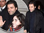 Picture Shows: Oscar Isaac  March 13, 2016\n \n 'Star Wars: The Force Awakens' star Oscar Isaac arrives at a St Patrick's day celebration in Trafalgar square, London, England.\n \n Non-Exclusive\n WORLDWIDE RIGHTS\n \n Pictures by : FameFlynet UK � 2016\n Tel : +44 (0)20 3551 5049\n Email : info@fameflynet.uk.com
