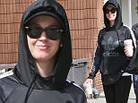 EXCLUSIVE. Coleman-Rayner. Los Angeles, CA, USA. \nMarch 13, 2016\nKaty Perry looks dressed down but gorgeous as she goes for a Sunday stroll with friends in Los Angeles. The singer - dating Orlando Bloom since February - sported an all black ensemble comprising of leggings, an Adidas sweatshirt, sunglasses and a baseball cap. Katy was all smiles but clearly wanting to go incognito as she pulled over her hoodie whilst sipping coffee and chatting with her pals.\nCREDIT LINE MUST READ: Coleman-Rayner\nTel US (001) 323 545 7548 - Mobile\nTel US (001) 310 474 4343 - Office\nwww.coleman-rayner.com
