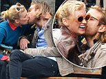 149377, EXCLUSIVE: Elsa Hosk seen getting up close and personal with her boyfriend in the West Village, NYC. New York, New York - Saturday March 12, 2016. Photograph: � PacificCoastNews. Los Angeles Office: +1 310.822.0419 sales@pacificcoastnews.com FEE MUST BE AGREED PRIOR TO USAGE