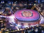 Barcelona's Nou Camp redevelopment plans