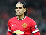 Radamel Falcao of Manchester United looks on prior to the Barclays Premier League match between Manchester United and Newcastle United at Old Trafford on December 26, 2014 in Manchester, England.  (Photo by Alex Livesey/Getty Images)