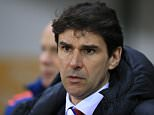 File photo dated 08-03-2016 of Middlesbrough manager Aitor Karanka PRESS ASSOCIATION Photo. Issue date: Saturday March 12, 2016. Aitor Karanka's future as Middlesbrough head coach is shrouded in uncertainty amid speculation that he could be about to leave the club. See PA story SOCCER Middlesbrough. Photo credit should read Nigel French/PA Wire.