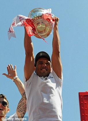 Celebration time! Santi Carzola