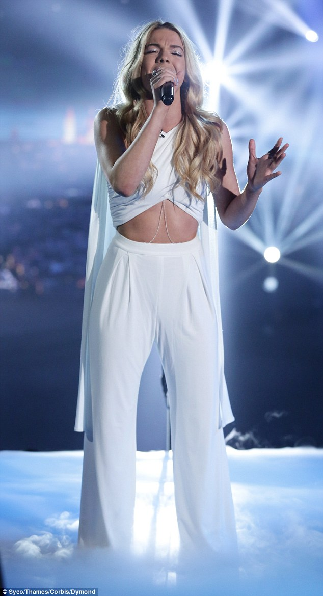 Louisa Johnson, 17, from Thurrock, Essex is the favourite to win X Factor after a slew of assured performances. But the hopeful admits that just a year ago she was at rock bottom when stress caused her weight to plummet to seven stone