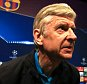 15 March 2016 - UEFA Champions League (Round of 16 - 2nd Leg) - Arsenal Press Conference - Arsene Wenger manager of Arsenal takes his seat at the table for the press conference - Photo: Marc Atkins / Offside.