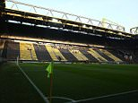 A General view of Borussia Dortmund stadium  before  the UEFA Europa League Round of 16 Leg 1  match  between Borussia Dortmund and Tottenham Hotspur    played at Westfalenstadion on 10th March 2016 in Dortmund