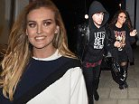"15 Mar 2016  - Brighton  - UK *EXCLUSIVE ALL ROUND PICTURES* Jesy Nelson -  Jake Roche  Little Mix girls seen arriving at a hotel after there ""Get Weird"" tour at the Brighton Centre. The girls was dressed down in chill clothes after there second tour date. Perrie was joined by a mystery male companion while Jesy was accompanied by fiancee Jake Roche! Byline Must Read: XPOSUREPHOTOS.COM ** UK clients please pixelate children's faces prior to publication** For content licensing please contact: Xposure Photos pictures@xposurephotos.com  44 (0) 208 344 2007"