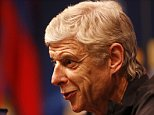 Football Soccer - Arsenal Press Conference - The Nou Camp, Barcelona, Spain - 15/3/16  Arsenal manager Arsene Wenger during the press conference  Action Images via Reuters / Carl Recine  Livepic  EDITORIAL USE ONLY.