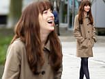 Picture Shows: Dakota Johnson  March 14, 2016\n \n Stars Dakota Johnson and Brant Daugherty are spotted on the set of 'Fifty Shades Darker' in Vancouver, Canada. Daugherty has been cast as security bodyguard Luke Sawyer.\n \n Non-Exclusive\n UK RIGHTS ONLY\n \n Pictures by : FameFlynet UK © 2016\n Tel : +44 (0)20 3551 5049\n Email : info@fameflynet.uk.com