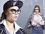 Cara Delevingne Chanel Spring Summer eyewear ad campaign 2016\n