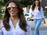 West Hollywood, CA - Birthday girl Eva Longoria gets her hair done at Ken Paves Salon in West Hollywood on her 41st birthday. Eva exited the salon and smiled for the cameras as her assistant left with her balloons and birthday sweets.\n \n AKM-GSI   March  15, 2016\nTo License These Photos, Please Contact :\nSteve Ginsburg\n(310) 505-8447\n(323) 423-9397\nsteve@akmgsi.com\nsales@akmgsi.com\nor\nMaria Buda\n(917) 242-1505\nmbuda@akmgsi.com\nginsburgspalyinc@gmail.com