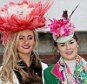 Female racegoers during Ladies Day of the 2016 Cheltenham Festival at Cheltenham Racecourse. PRESS ASSOCIATION Photo. Picture date: Wednesday March 16, 2016. See PA story RACING Cheltenham. Photo credit should read: David Davies/PA Wire. RESTRICTIONS: Editorial Use only, commercial use is subject to prior permission from The Jockey Club/Cheltenham Racecourse. Call +44 (0)1158 447447 for further information.