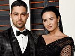 BEVERLY HILLS, CA - FEBRUARY 28:  Actor Wilmer Valderrama (L) and recording artist Demi Lovato attend the 2016 Vanity Fair Oscar Party Hosted By Graydon Carter at the Wallis Annenberg Center for the Performing Arts on February 28, 2016 in Beverly Hills, California.  (Photo by Larry Busacca/VF16/Getty Images for VF)