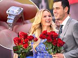 New York, NY - Bachelor winner Lauren Bushnell and Ben Higgins arrived to a huge crowd at Good Morning America after their engagement.  The two kissed for cameras as the crowd cheered and looked so in love with one another.\nAKM-GSI          March 15, 2016\nTo License These Photos, Please Contact :\nSteve Ginsburg\n(310) 505-8447\n(323) 423-9397\nsteve@akmgsi.com\nsales@akmgsi.com\nor\nMaria Buda\n(917) 242-1505\nmbuda@akmgsi.com\nginsburgspalyinc@gmail.com