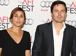 """HOLLYWOOD, CA - NOVEMBER 09: Summer Phoenix and Casey Affleck attend the AFI FEST 2013 Presented By Audi - """"Out Of The Furnace"""" Premiere held at TCL Chinese Theatre on November 9, 2013 in Hollywood, California. (Photo by JB Lacroix/WireImage)"""