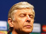Mandatory Credit: Photo by Action Press/REX/Shutterstock (5614246f) Arsene Wenger Arsenal football press conference, Barcelona, Spain - 15 Mar 2016