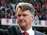 """File photo dated 13-03-2016 of Manchester United manager Louis van Gaal. PRESS ASSOCIATION Photo. Issue date: Tuesday March 14, 2016. Louis van Gaal was proud of his players for keeping Manchester United's FA Cup dreams alive at the end of a """"very nasty week"""". See PA story SOCCER Man Utd. Photo credit should read Martin Rickett/PA Wire."""