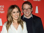 """NEW YORK, NEW YORK - MARCH 14:  Sarah Jessica Parker and Matthew Broderick attend the """"Hold On To Me Darling"""" opening night after party at The Gallery at The Dream Downtown Hotel on March 14, 2016 in New York City.  (Photo by Steven A Henry/WireImage)"""