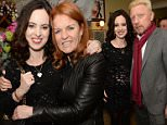 Mandatory Credit: Photo by Richard Young/REX/Shutterstock (5613596o) Sally Humphreys and Sarah Ferguson Duchess of York Heather Kerzner Birthday Party at Bellamy, London, Britain - 14 Mar 2016