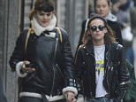 14.March.2016 - Paris - France Love birds Kristen Stewart and Soko (StÈphanie Sokolinski) out for a romantic stroll and holding hands along Canal Saint Martin in the romantic city of Paris *** AVAILABLE FOR UK SALE ONLY *** BYLINE MUST READ : NO CREDIT ***UK CLIENTS - PICTURES CONTAINING CHILDREN PLEASE PIXELATE FACE PRIOR TO PUBLICATION *** **UK CLIENTS MUST CALL PRIOR TO TV OR ONLINE USAGE PLEASE TELEPHONE 0208 344 2007**