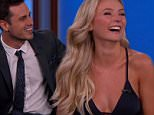 The Bachelor Ben Higgins and Lauren B. during an appearance on ABC's 'Jimmy Kimmel Live!' Ben  and Lauren get engaged. Jimmy plays a game game with them to to a well they know each other.\nFeaturing: Ben Higgins, Lauren B.\nWhere: United States\nWhen: 15 Mar 2016\nCredit: Supplied by WENN.com\n**WENN does not claim any ownership including but not limited to Copyright, License in attached material. Fees charged by WENN are for WENN's services only, do not, nor are they intended to, convey to the user any ownership of Copyright, License in material. By publishing this material you expressly agree to indemnify, to hold WENN, its directors, shareholders, employees harmless from any loss, claims, damages, demands, expenses (including legal fees), any causes of action, allegation against WENN arising out of, connected in any way with publication of the material.**