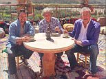 Jeremy Clarkson , James May and richard hammond  Old Top Gear