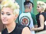Beverly Hills, CA - Paris Jackson sports a rocker look in distressed jeans, a muscle tee, Dr. Martens and her pixie cut to top it off! She's seen at Sprinkles eating sweets with her new boyfriend.     AKM-GSI       March 15, 2016 To License These Photos, Please Contact : Steve Ginsburg (310) 505-8447 (323) 423-9397 steve@akmgsi.com sales@akmgsi.com or Maria Buda (917) 242-1505 mbuda@akmgsi.com ginsburgspalyinc@gmail.com