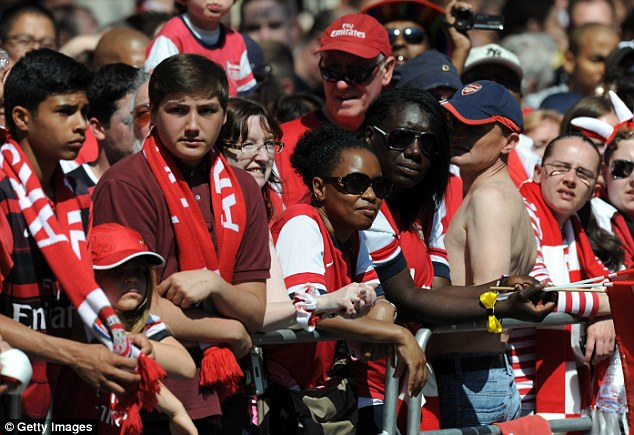 Lovely day for it! Arsenal fans got to welcome in a new era for the club on one of the hottest days of the year