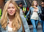 Miley Cyrus was seen in New York on the movie set of new Woody Allen's project. She was acting in the scene in which she is running away from a kidnapper. \n\nPictured: Miley Cyrus\nRef: SPL1246759  160316  \nPicture by: Splash News\n\nSplash News and Pictures\nLos Angeles: 310-821-2666\nNew York: 212-619-2666\nLondon: 870-934-2666\nphotodesk@splashnews.com\n