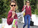 Mandatory Credit: Photo by Startraks Photo/REX/Shutterstock (5613889a)\nKatie Holmes\nKatie Holmes out and about, Los Angeles, California, America - 14 Mar 2016\nKatie Holmes Running Errands in La\n