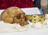 Erik den heliges skrin öppnas i Uppsala domkyrka\nFoto. Mikael Wallerstedt  On April 23, 2014, the reliquary was opened at a ceremony in Uppsala Cathedral. After this, researchers from several scientific disciplines set to work running tests on the remains in an attempt to learn more about the medieval king. Now, the first results of these examinations are made public.