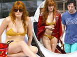 PREMIUM EXCLUSIVE\nNO WEB USAGE WITHOUT AGREED FEE\n\n*EXCLUSIVE* Rio de Janeiro, Brazil - British artist Florence Welch, who is currently in Rio with her band Florence + the Machine to perform a few sold out concerts, was seen by the Fasano hotel pool this afternoon with a mystery man, while working on her tan lines. The duo seemed very close, and happy together. The 'Dog Days Are Over' singer showed off her body wearing a mustard yellow crochet two-piece bikini.\n\nAKM-GSI          March 15, 2016\n\nTo License These Photos, Please Contact :\n\nSteve Ginsburg\n(310) 505-8447\n(323) 423-9397\nsteve@akmgsi.com\nsales@akmgsi.com\n\nor\n\nMaria Buda\n(917) 242-1505\nmbuda@akmgsi.com\nginsburgspalyinc@gmail.com8