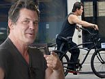 Venice, CA - Josh Brolin enjoys a relaxing Monday. The 48-year-old actor bikes to Dog Town Cafe where he buys coffee and enjoys it outside. \n  \nAKM-GSI      March 14, 2016\nTo License These Photos, Please Contact :\nSteve Ginsburg\n(310) 505-8447\n(323) 423-9397\nsteve@akmgsi.com\nsales@akmgsi.com\nor\nMaria Buda\n(917) 242-1505\nmbuda@akmgsi.com\nginsburgspalyinc@gmail.com