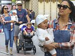 EXCLUSIVE: Tamera Mowry takes her family to The Grove mall in West Hollywood, California\n\nPictured: Tamera Mowry, Ariah Housley, Adam Housley, Aden Housley\nRef: SPL1246117  130316   EXCLUSIVE\nPicture by: Splash News\n\nSplash News and Pictures\nLos Angeles: 310-821-2666\nNew York: 212-619-2666\nLondon: 870-934-2666\nphotodesk@splashnews.com\n