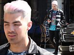 Picture Shows: Joe Jonas  March 14, 2016\n \n Joe Jonas is spotted out and about in Hollywood with a friend. The singer is sporting some pink and silver hair. \n \n Exclusive - All Round\n UK RIGHTS ONLY\n \n Pictures by : FameFlynet UK � 2016\n Tel : +44 (0)20 3551 5049\n Email : info@fameflynet.uk.com